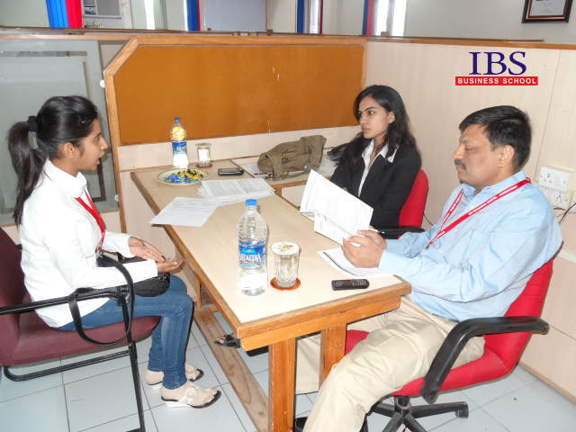 personal interview at IBS