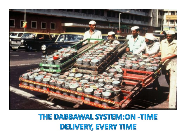 Case Study of Mumbai Dabbawala